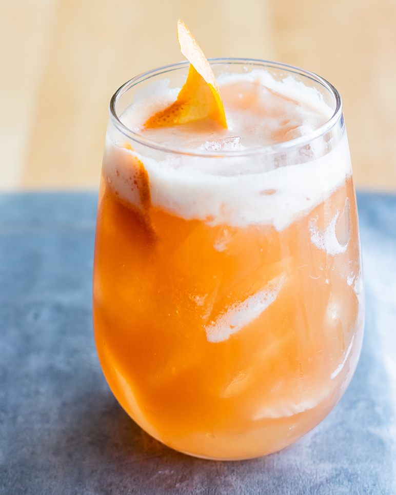 Bourbon Peach Shrub